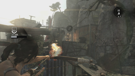 Tomb Raider Bow Fire
